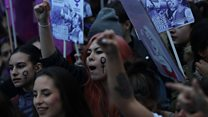 Spanish women call for gender equality