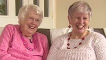 Mum joins daughter at retirement village