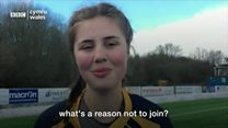 Women's rugby: 'No reason not to join'
