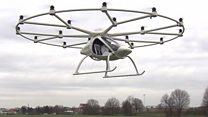 طائرات الأجرة وسيلة المستقبل للتنقل داخل المدن