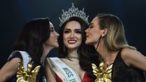 Transgender beauty queen's plea for equality