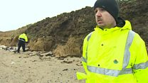Clean-up after storm pollutes beaches
