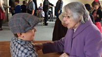 Children help recreate dance hall atmosphere