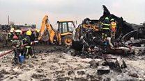 Авіакатастрофа в Непалі - кадри з місця