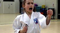 'I think more girls should do karate'
