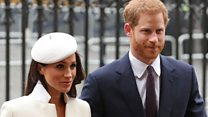Meghan Markle joins royals on Commonwealth Day