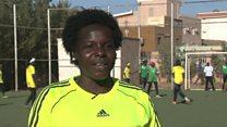 قائدة منتخب كرة القدم النسائية السوداني حائرة بين جنسيتها ومكان نشأتها
