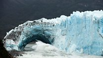 Argentinian glacier collapses - again