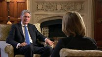 In full: Kuenssberg interviews Philip Hammond