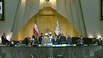 ابقای وزرای کار و راه کابینه روحانی در مجلس پس از استیضاح
