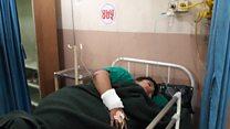 दुर्घटनामा घाइते बांग्लादेशी महिला