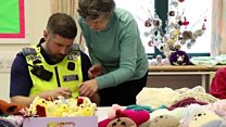 PCSOs try their hand at knitting
