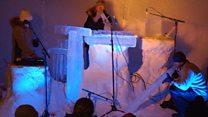 Frozen beats: The ice music festival