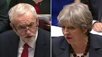 Corbyn quotes Hawking's NHS comments to May