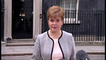 Sturgeon and May 'united' over Russian