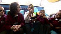 Oscar winners go back to school