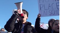 Student walkouts: 'We're voting in 2020'