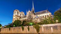 La misión para rescatar un derruído monumento de París