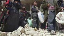 ชาวซีเรียนับหมื่นหนีภัยสู้รบในกูตาตะวันออก