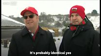 What do Canadians think of Welsh snow?