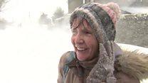 Carer, 70, in freezing five-mile walk home