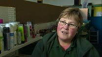 Foodbank user numbers 'quite scary'