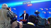 Poutine rempile pour un 4e mandat