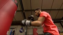 Deaf boxer's fight to turn professional