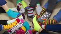 """Чому різні шкарпетки нагадують про """"сонячних людей"""""""