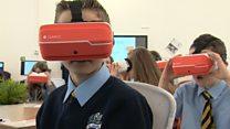 Scottish pupils getting virtual learning