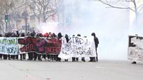 Manifestations massives en France