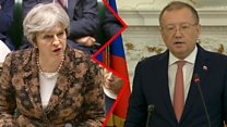 War of words between the UK and Russia