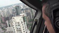 Aprende inglés: así funciona el nuevo servicio de taxi en helicóptero en Sao Paulo