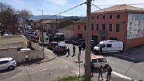 Police surround France hostage scene