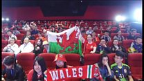 Wales stars play Chinese whisper charades