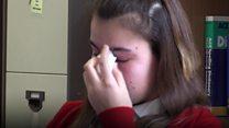 Teenagers' grief over school friend death