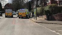 Police officer slashed with sword