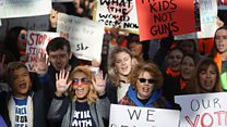 A day of protests against gun violence