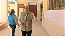أجواء الانتخابات في العاصمة المصرية القاهرة في أولى أيام الانتخابات