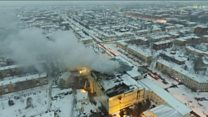 Incendie en Russie : au moins 64 morts