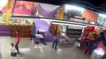 Russian shopping centre inferno kills 64