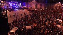 اعتراض هواداران رهبر سابق کاتالونیا به بازداشت وی
