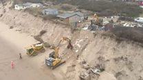 Cliff-top house demolition completed