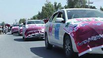 راهپیمایی ضد جنگ بسوی مرکز قدرت طالبان