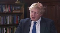 Johnson on 'unprecedented' Russian expulsions