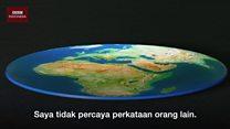 Pria AS terbangkan roket demi buktikan Bumi datar