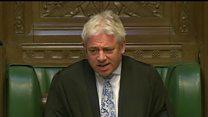 Bercow accuses Boris Johnson of sexism