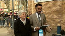Catalan politician hands herself in to Scottish police