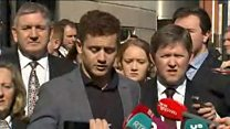 Paddy Jackson thanks jury, family and friends