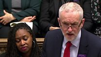 Corbyn challenges May on mental health spending